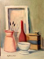 Quadro di Umberto Bianchini - Composizione  olio tela