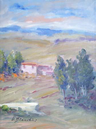 Quadro di Umberto Bianchini Paesaggio, olio su tela 40 x 30 | FirenzeArt Galleria d'arte