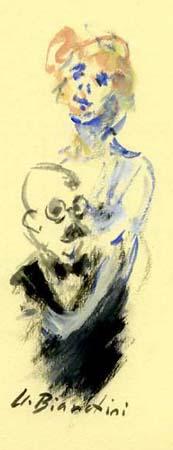 Umberto Bianchini - L'abbraccio