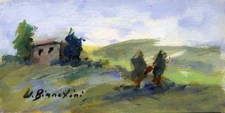 Quadro di Umberto Bianchini Colore natura - tempera tavola