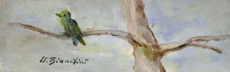 Art work by Umberto Bianchini Natura - varnish table