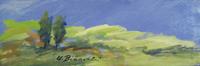 Quadro di Umberto Bianchini - Le verdi colline tempera tavola