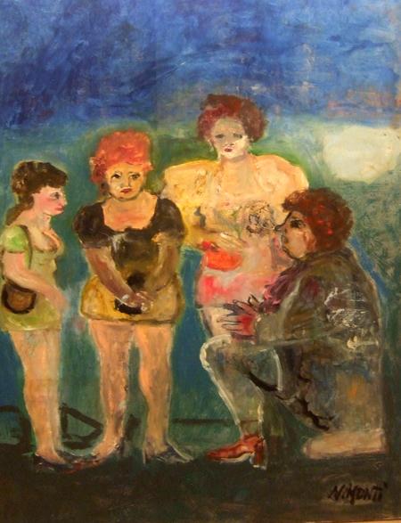 Art work by Nadia Monti Voglia - oil canvas