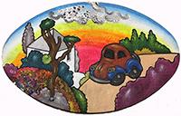 Quadro di Luca Alinari - Paesaggio olio tela