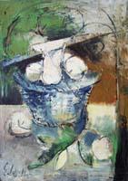 Quadro di Emanuele Cappello - Composizione olio tela