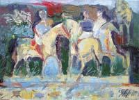 Work of Emanuele Cappello  Corsa di cavalli