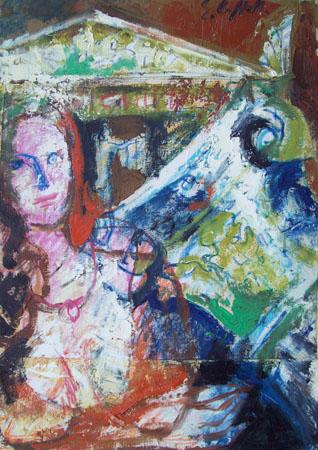 Quadro di Emanuele Cappello Fantasia classica - olio tela