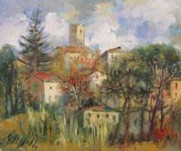 Quadro di Emanuele Cappello - Paesaggio olio tela