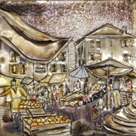 Art work by Rosa Martemucci Mercato - mixed -
