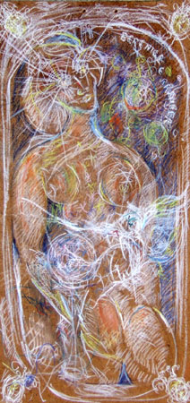 Art work by Bruno (Bob) Borghesi Composizione - mixed hardboard