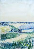Quadro di Liù Venturi - Paesaggio olio tela