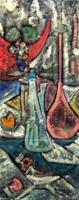 Quadro di Alvaro Baragli - Composizione olio tela