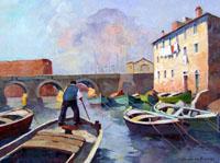 Quadro di Claudio da Firenze  Vecchia Livorno