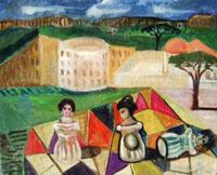 Work of Roberto Panichi - Composizione oil table