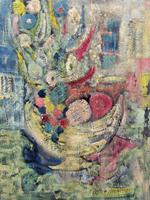 Quadro di Alvaro Baragli  Composizione astratta