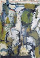 Quadro di Emanuele Cappello - Composizione informale olio tela