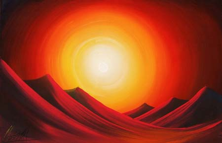 Quadro di  Ammar Dune - Pittori contemporanei galleria Firenze Art