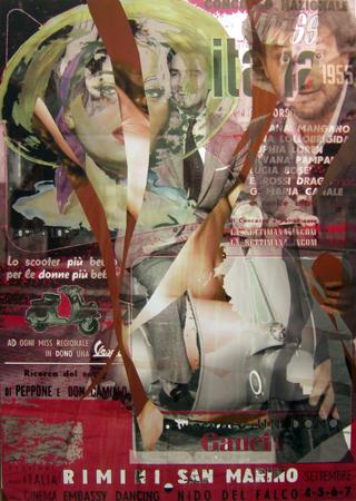 Quadro di Andrea Tirinnanzi Alla Base c'è sempre lei (Marilyn) - digital art tela