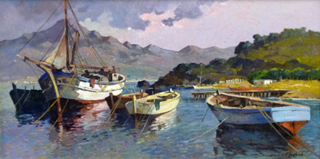 Immagini di barche da dipingere immagini da colorare for Dipingere quadri moderni