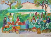 Work of Rodolfo Marma  Ortolano al campo di marte
