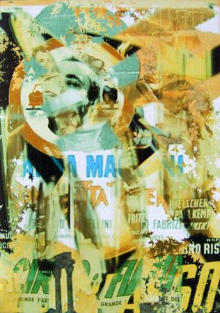 Art work by Andrea Tirinnanzi Cinema - digital art canvas