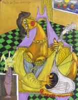 Work of  Paolo da San Lorenzo  La gitana