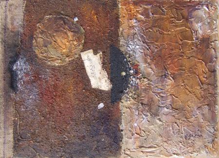 Quadro di Roberto Greco Senza Titolo - mista faesite