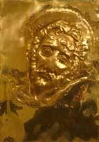 Quadro di Luigi Pignataro Cristo   - scultura rame