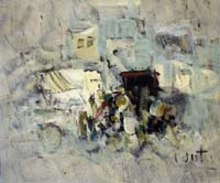 Quadro di Alvaro Danti - Mercato olio tela