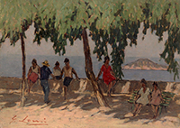 Work of Giovanni Lomi  Capo d'Enfola - Isola d'Elba