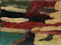 Quadro di Luciano Baragli - Senza titolo olio tela