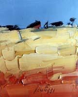 Quadro di Sergio Scatizzi  Paesaggio