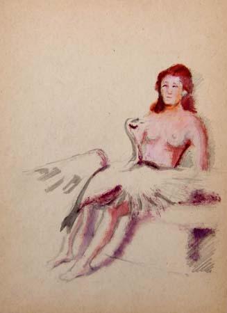 Quadro di Luigi Pignataro Leda - Pittori contemporanei galleria Firenze Art