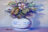 Quadro di Umberto Bianchini  Vaso di fiori