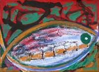 Quadro di Livio Cogoli  Il buco della balena
