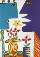 Work of Livio Cogoli - Fiori oil canvas