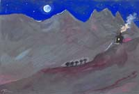 Quadro di Livio Cogoli  La bella addormentata (Gransasso)