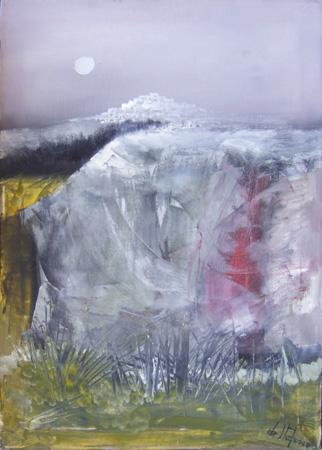 Art work by Luigi De Stefano Paesaggio - oil canvas