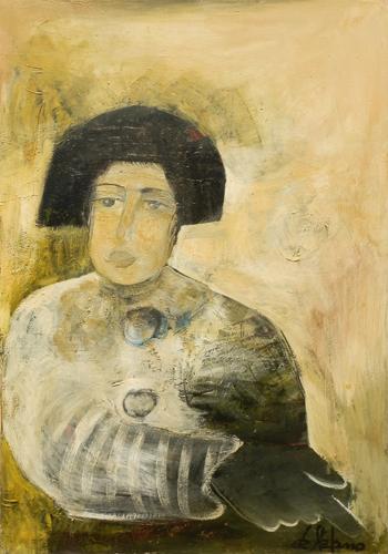Art work by Luigi De Stefano Momento decisivo - oil canvas