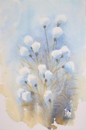 Art work by Heikki Laaksonen Fiori - watercolor paper