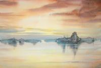 Work of Heikki Laaksonen - Paesaggio watercolor paper