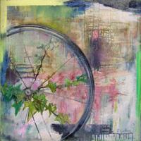 Quadro di Caroline Gallois - Astratto olio tela