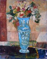 Work of Nada Monti - Fiori oil canvas