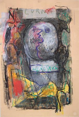 Quadro di  Kapel (Cappello) Urna - mista cartone