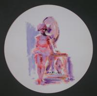 Quadro di Umberto Bianchini  Figurina