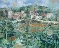 Work of Emanuele Cappello  Veduta di paese