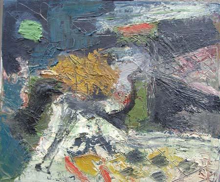 Quadro di Emanuele Cappello Ritrovamento, olio su tela 60 x 50 | FirenzeArt Galleria d'arte