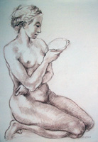 Work of Felice Carena  Nudo