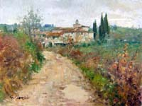 Work of Graziano Marsili  Dintorni di S. Polo in Chianti