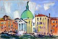Work of Rodolfo Marma  Venezia (San Simeon Piccolo sul Canal Grande)